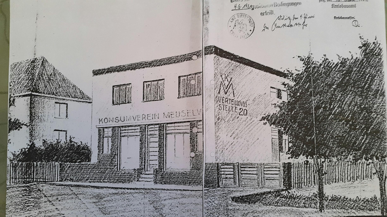 Baugenehmigung 1931